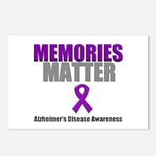 Alzheimers Memories Matter Postcards (Package of 8