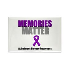Alzheimers Memories Matter Rectangle Magnet