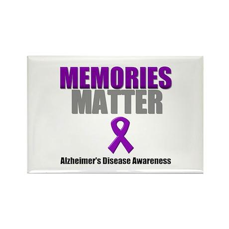 Alzheimers Memories Matter Rectangle Magnet