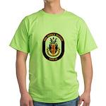 USS John S. McCain DDG-56 Green T-Shirt