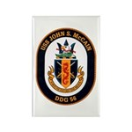 USS John S. McCain DDG-56 Rectangle Magnet (100 pa