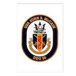 USS John S. McCain DDG-56 Postcards (Package of 8)