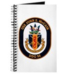 USS John S. McCain DDG-56 Journal