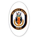 USS John S. McCain DDG-56 Oval Sticker