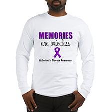 Alzheimer's Memories Priceless Long Sleeve T-Shirt