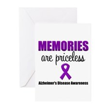 Alzheimer's Memories Priceless Greeting Cards (Pk