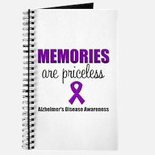 Alzheimer's Memories Priceless Journal