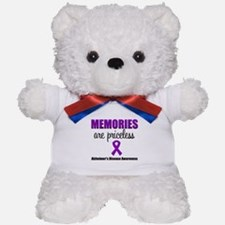 Alzheimer's Memories Priceless Teddy Bear