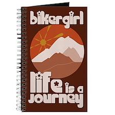 BikerGirl Life Is A Journey Journal