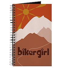 BikerGirl Sunset Sky Journal