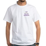 Neuro scrub Mens Classic White T-Shirts