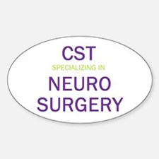CST - Neuro Oval Decal