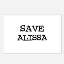 Save Alissa Postcards (Package of 8)