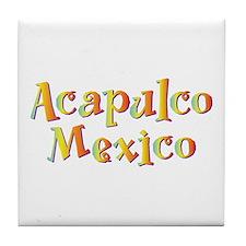 Acapulco Mexico - Tile Coaster