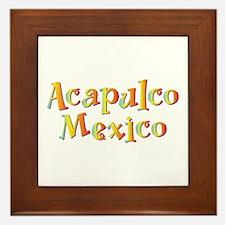 Acapulco Mexico - Framed Tile
