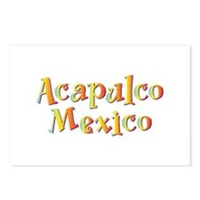 Acapulco Mexico - Postcards (Package of 8)