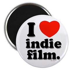 I Love Indie Film Magnet