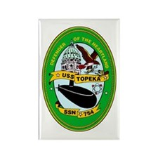 USS Topeka SSN-754 Rectangle Magnet (100 pack)