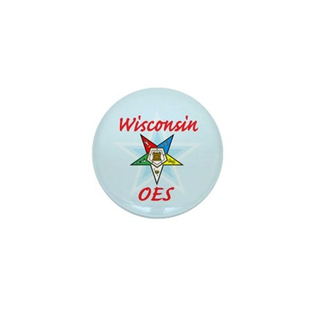 Wisconsin Eastern Star Mini Button