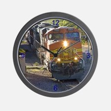 Unit Train Wall Clock