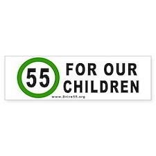 55 for Our Children Bumper Bumper Sticker