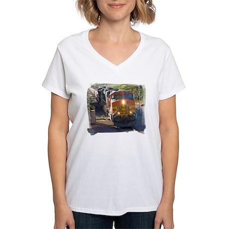 Unit Train Women's V-Neck T-Shirt