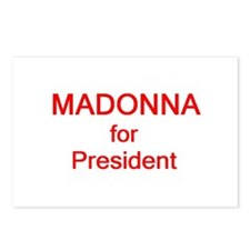 Madonna for President Postcards (Package of 8)