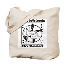 Cute Air traffic controller kids Tote Bag