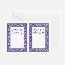Purple Frame Bookplates
