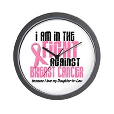 In The Fight 1 BC (Daughter-In-Law) Wall Clock