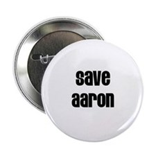 """Save Aaron 2.25"""" Button (100 pack)"""