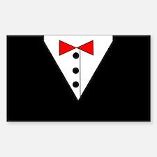 Tuxedo Rectangle Decal