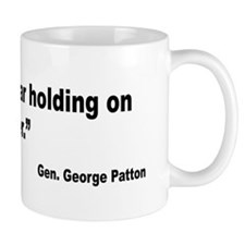 Patton Courage Fear Quote Mug