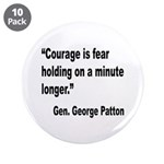 Patton Courage Fear Quote 3.5