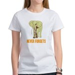Never Forgets Women's T-Shirt