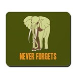 Never Forgets Mousepad
