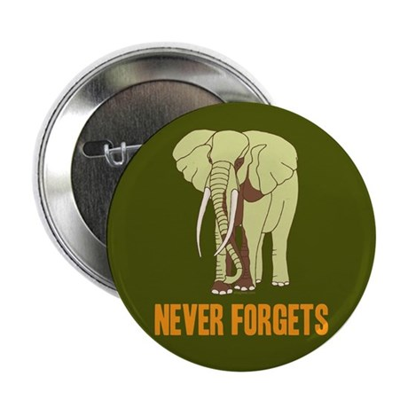 """Never Forgets 2.25"""" Button"""