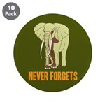 "Never Forgets 3.5"" Button (10 pack)"