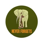 "Never Forgets 3.5"" Button (100 pack)"