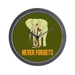 Never Forgets Wall Clock