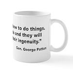 Patton Ingenuity Quote Mug