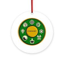 Coexist Ornament (Round)