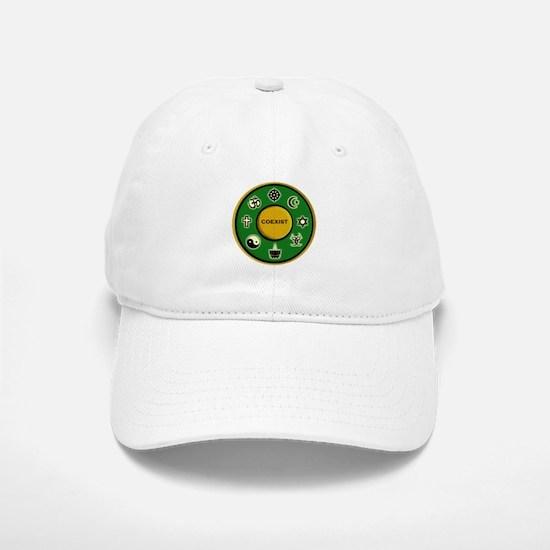 Coexist Baseball Baseball Cap