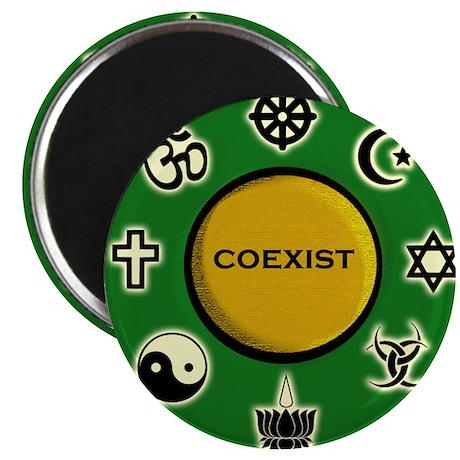 "Coexist 2.25"" Magnet (100 pack)"