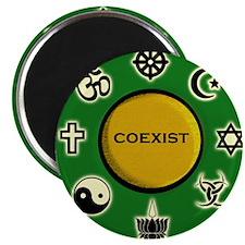 "Coexist 2.25"" Magnet (10 pack)"