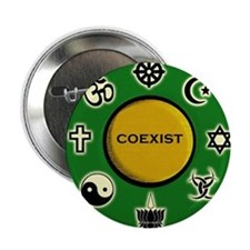 "Coexist 2.25"" Button"