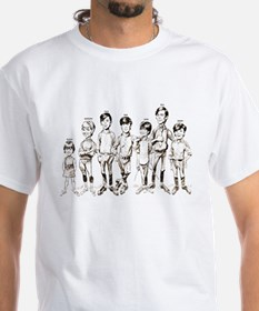 1960s Cartoon Line-up Shirt