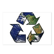 Recycle Earth Postcards (Package of 8)