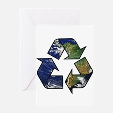 Recycle Earth Greeting Card