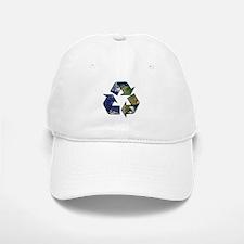 Recycle Earth Baseball Baseball Cap